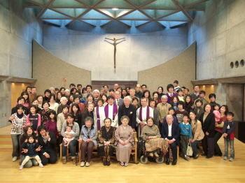 広島最終礼拝の後