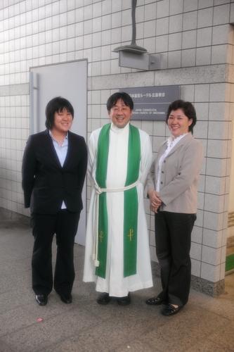 広島教会最後の結婚式