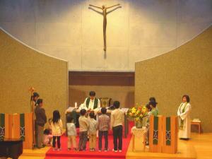 礼拝・こども祝福式