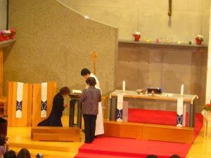 礼拝・洗礼式